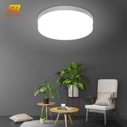 Светодиодный Светодиодная лампа потолочный светильник 48 W 36 W 24 W 18 W 13 W 9 Вт 6 W светильник поверхностного монтажа AC 85-265 V современные лампы для
