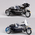 Maisto new Harley alloy simulation model car 1:18 Harley cross three rounds of the motorcycle toys