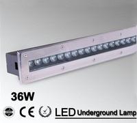 2pcs/lot 24w Warm White/RGB/Led Floor Lamp Floor Led Lamps Led Ground Lighting CE IP68 Waterproof AC85 265V/12V