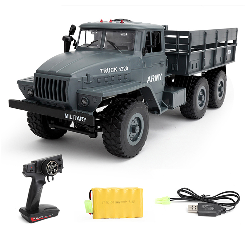 Collection Here Wpl 6x6 Ural Radio Controlled Cars Off Road Rc Car Parts 1:16 6wd Simulation Rc Crawler Military Truck Body Assemble Kids Toys Pure White And Translucent Remote Control Toys Rc Cars