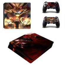 Naruto Skin Sticker Decal Vinyl For Sony PS4 Slim