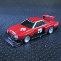 High Simulation Exquisite 1:64 Nissan Skyline RS Turbo Silhouette Diecast car Collection Model Gift