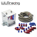 WLR STORE-  ALLOY SURGE TANK KIT & HOSE & FITTINGS (2 Ltr) MIRROR POLISHED AN6 WLR- TK31