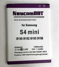 B500AE S4 Mini Batería Para Samsung S4Mini i9198 B500BE B500BU SGH-I257 SHV-E370 GT-i9192 GT-i9195 GT-i9190 9192 i9198 i9195
