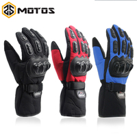 Outdoor Sports Motorcycle Full Finger Protective Gear Racing Gloves Breathable Mesh Fabric Gloves Whosales Price