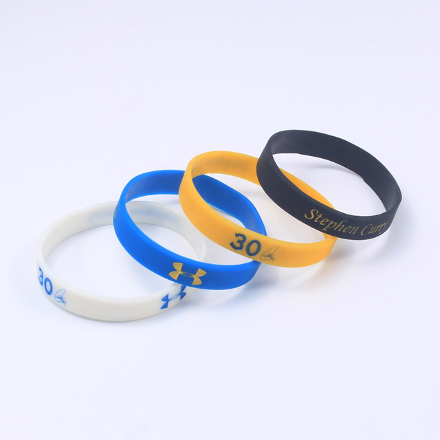 831a11b15f7b9 US $2.68 |4pcs/lot Basketball star Stephen Curry Number 30 Signature Energy  Silicone Wristband Bangle Silicone Bracelet Hand Band Gifts-in Bangles ...