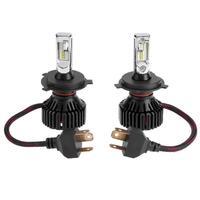 VODOOL 2Pcs 9 32V 6500K 50W T8 ZES H4 9005 Car Auto Headlight LED Bulb Vehicle