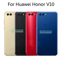 5.99 inch For Huawei Honor V10 BKL L09 BKL TL10 / For Honor View 10 Back Battery Cover Door Housing case Rear Glass parts