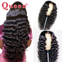 13*4 Brazilian Loose Deep Wave Lace Front Human Hair Wigs For Women Remy Hair Human Hair Wig With Baby Hair QUEEN HAIR PRODUCTS