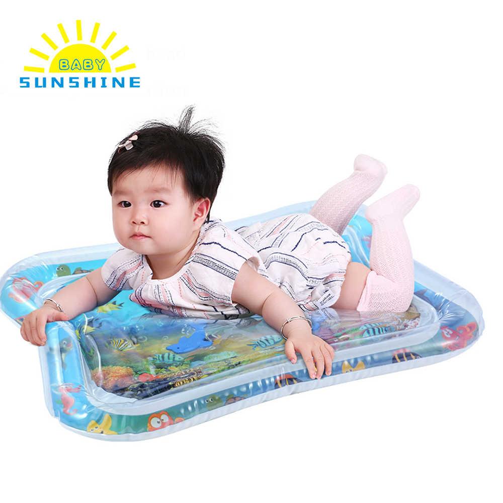 Детский игровой коврик для детей, игрушки, надувной утолщенный ПВХ, младенческий животик, время игры, коврик для малышей, подвижная игра, центр, водяное сиденье для малышей