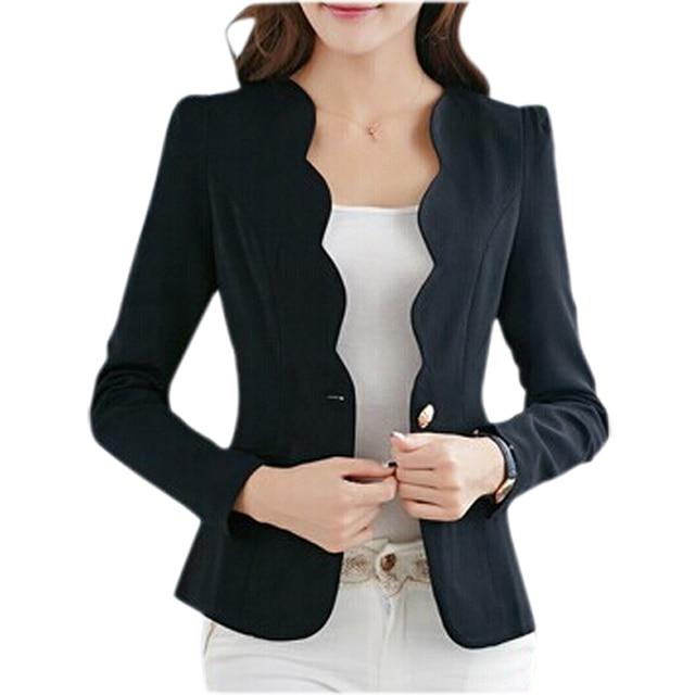 Syb 2018 New Autumn Casual Jackets Women Slim Short Design Suit