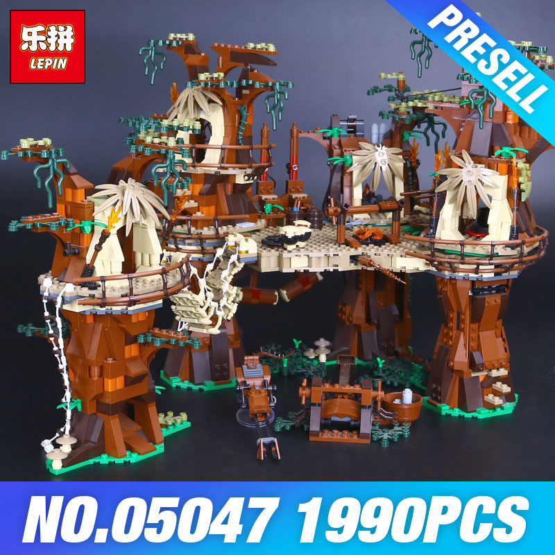 1990pcs Lepin 05047 Star Village Wars font b Building b font Blocks Juguete para Construir Bricks