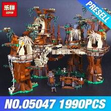 1990 unids Lepin 05047 Aldea de la Estrella Wars Ladrillos Juguetes Educativos Bloques de Construcción de Juguete para Construir Compatible 10236 Regalo del Muchacho