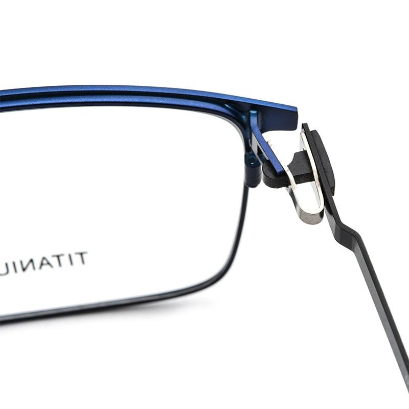 Titanium Alloy TR90 Prescription Glasses Women Round Eyeglasses 2019 Men Full Myopia Optical Frames Korean Screwless Eyewear in Men 39 s Eyewear Frames from Apparel Accessories
