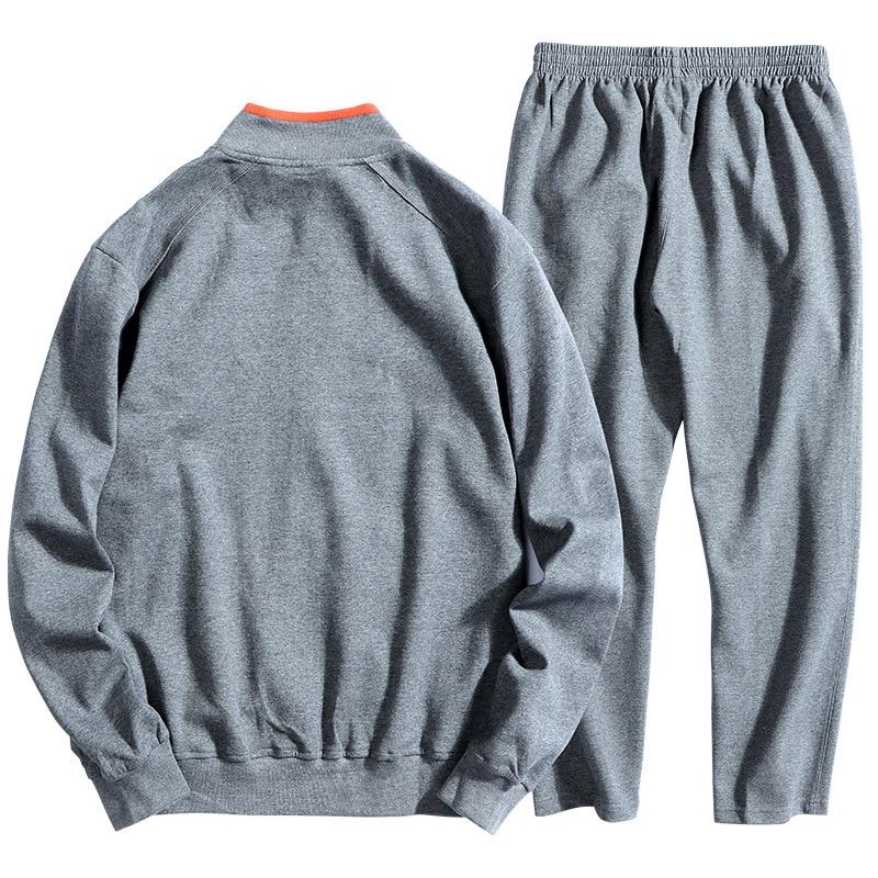 DIMUSI hiver vêtements de sport pour hommes ensembles survêtement vêtements pour hommes Sweatshirts hommes gros Loosse vestes à capuche vêtements 6XL 7XL 8XL, TA239 - 4