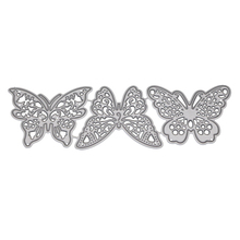 3pcs butterfly Metal Cutting Dies For DIY fustelle metalliche per scrapbooking Decor Beautiful Embossing stamps and dies new