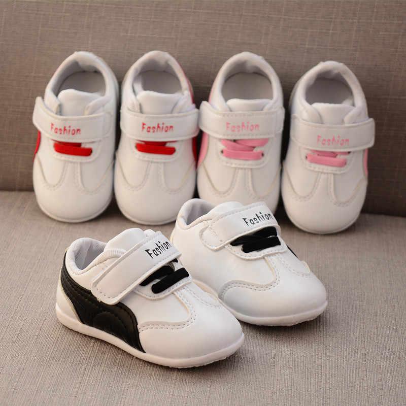 2019 Nieuwe 1 Jaar oude Baby Jongens En Meisjes Peuter Schoenen Pasgeboren Zachte Sportschoenen Mode Baby Eerste Wandeling Prewalker hoge Kwaliteit
