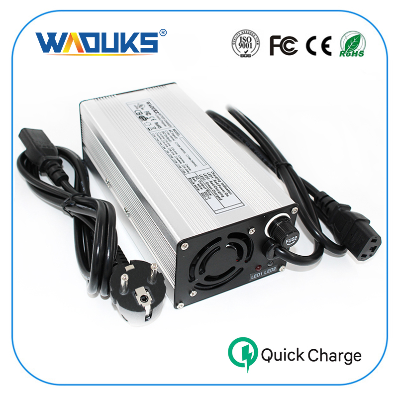 WAOUKS 21V 13A Charger 18 5V Li ion Battery Charger For E Bike 5S 18 5V