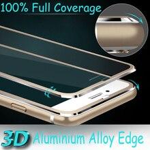 Алюминий сплав закаленное стекло Coque для IPhone X 8 5 5S SE 5C 6 6 S 7 Plus Полный крышка охват Fundas