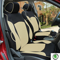 Special car seat cover for Skoda Octavia RS Fabia Superb Rapid Yeti Spaceback GreenLine Joyste Jeti BLACK/GRAY car accessories