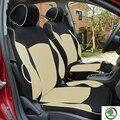 Tampa de assento do carro especial para Skoda Octavia RS Fabia Superb Yeti Rápida Spaceback GreenLine Joyste Jeti PRETO/CINZA carro acessórios