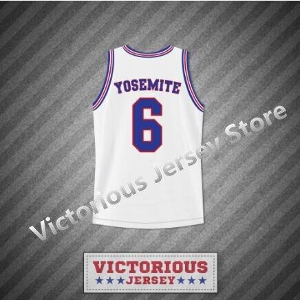 Basketball Basketball Jerseys Romantic Minanser Mens Space Jam Tune Squad Yosemite Sam 6 Basketball Jersey Stitch Sewn Quality First