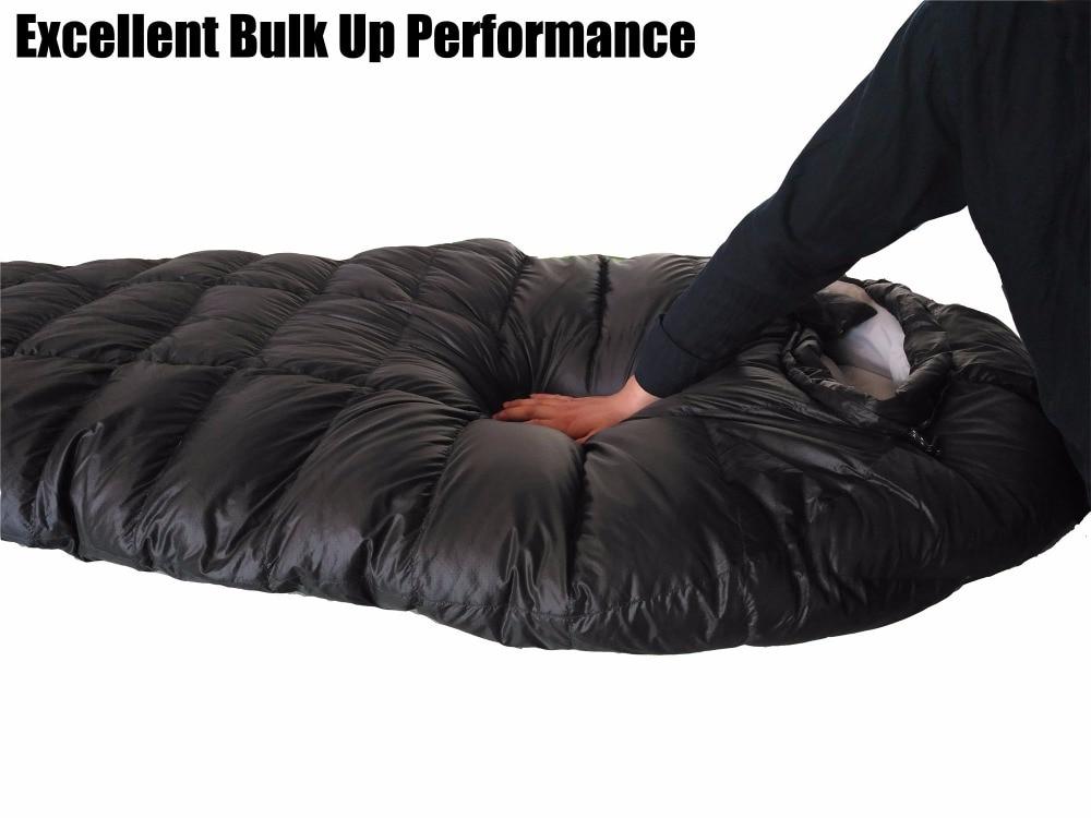 Camping Sleeping Bag, Ultralight Sleeping Bag for camping ,winter sleeping bag duck down sleeping bag Winter for camping 540g camping