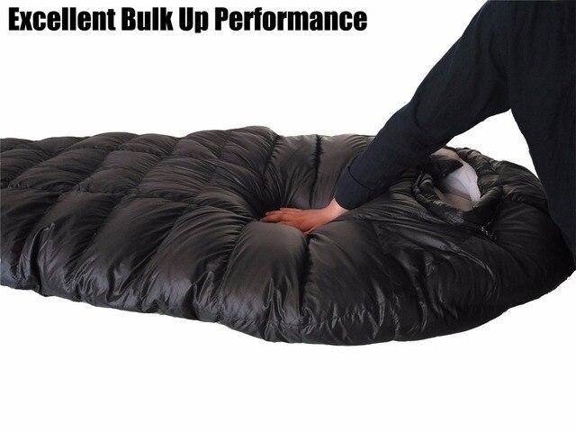 Camping Sleeping Bag Winter Ultralight For Duck Down