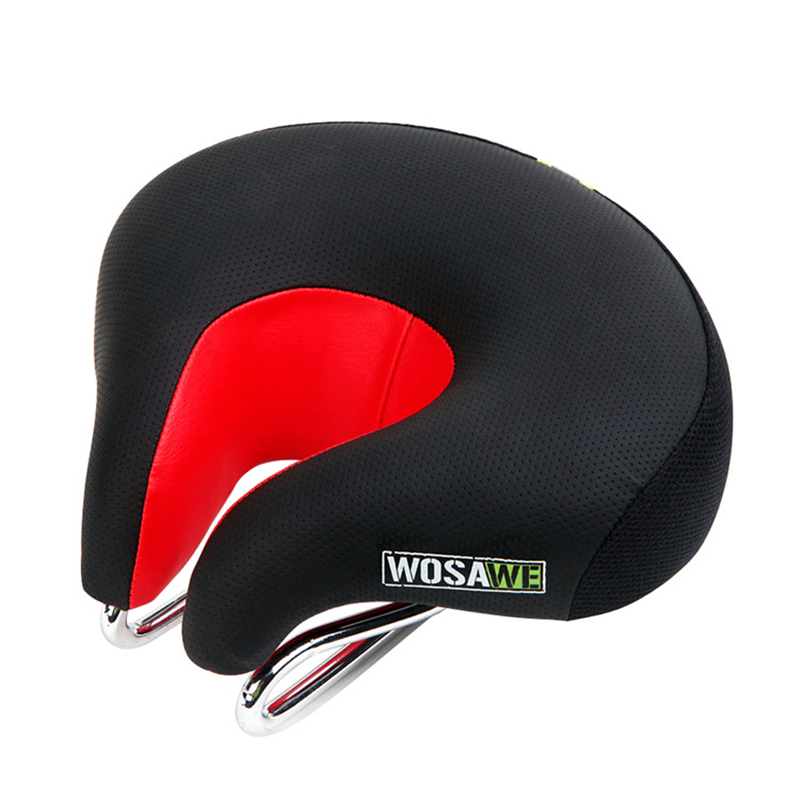 Bicycle Saddle Soft Cycling Saddle Bicicleta Cushion Comfortable MTB Road Bike Seat Half Cushion Saddle Bicycle Accessories 2017 sale selim selle sella carbonio wide bicycle seat thicken bike saddle bicicleta cycling mtb cushion asiento sponge soft