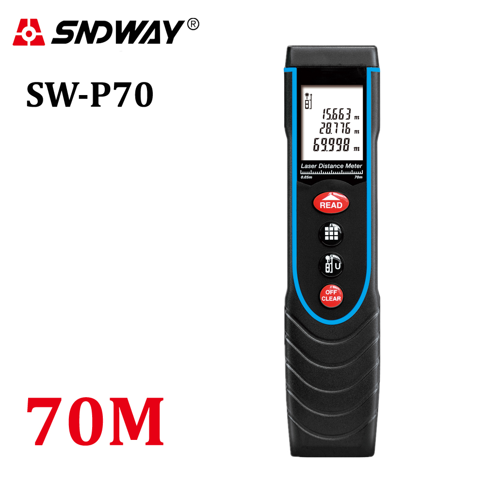 ФОТО SW-P70 Pen Type 70M 229ft Laser Distance Meter Golf Rangefinder Range Finder Handheld Measure Measuring Tool lase tape