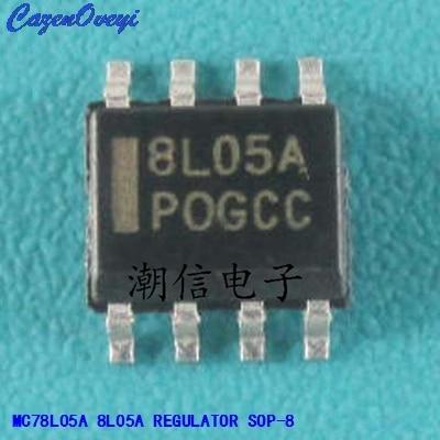 10pcs Lot Mc78l05a Mc78l05a 8l05a Sop 8 In Integrated