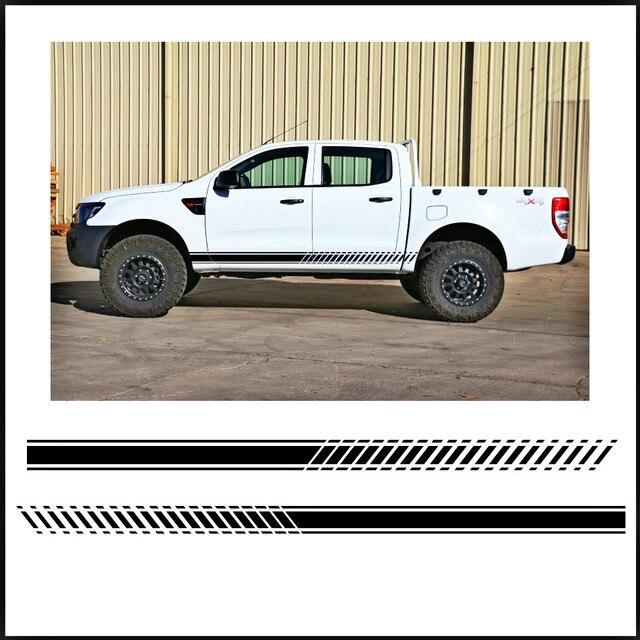 Us 231 Aliexpresscom 2 Pc Gradienten Seite Streifen Grafik Vinyl Aufkleber Für Ford Ranger 2012 2013 2014 2015 2016 Aufkleber Von Verlässlichen