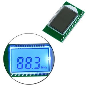 Image 1 - PLL LCD 디지털 87 108MHZ FM 라디오 수신기 모듈 무선 마이크 스테레오