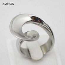 Joyeria de acero inoxidable mujeres anillo envío gratis reparto estupendo anillo 316l Acero inoxidable moda Anillos fabricación titanio