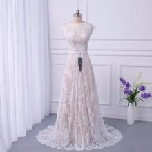 2018 Bridal Boho Lace Wedding Dress Wedding Dresses Court Train vestidos de noiva robe de mariage long Robe de Maria casamento