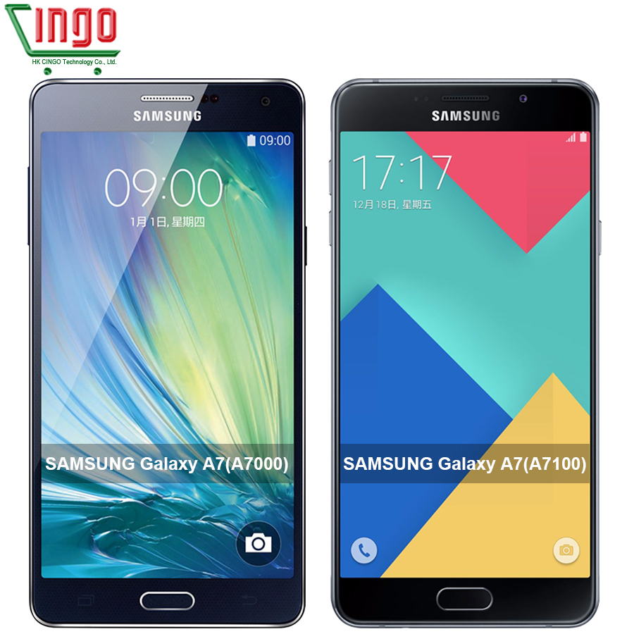 Camera Android Phone Shop a7100 android phone promotion shop for promotional original samsung galaxy a7 dual sim 4g smart a7000a7100 octacore 2g ram 16g rom 13mp camera 5 1080p mobile