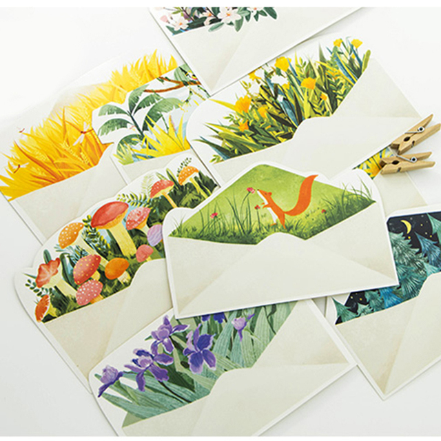 30 pcspack creative letter from the island greeting card postcard 30 pcspack creative letter from the island greeting card postcard birthday gift card set bookmarktalkfo Images