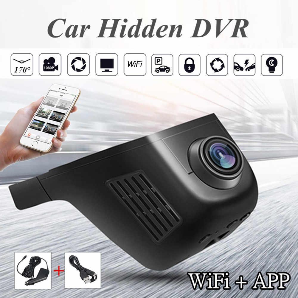 DVR para coche oculto HD 1080P WIFI DVR vehículo cámara Video grabadora Dash Cam visión nocturna Dropshipping copia de seguridad cámara nueva #10
