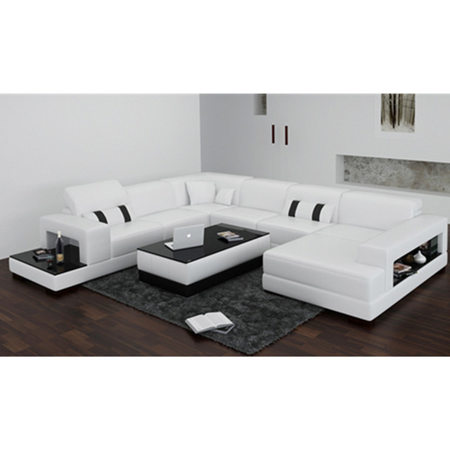 China fabrik weiß moderne wohnzimmer couch in China fabrik weiß ...