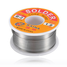 цена на New Welding Iron Wire Reel 100g/3.5oz FLUX 2.0% 1mm 63/37 45FT Tin Lead Line Rosin Core Flux Solder Soldering  Wholesale