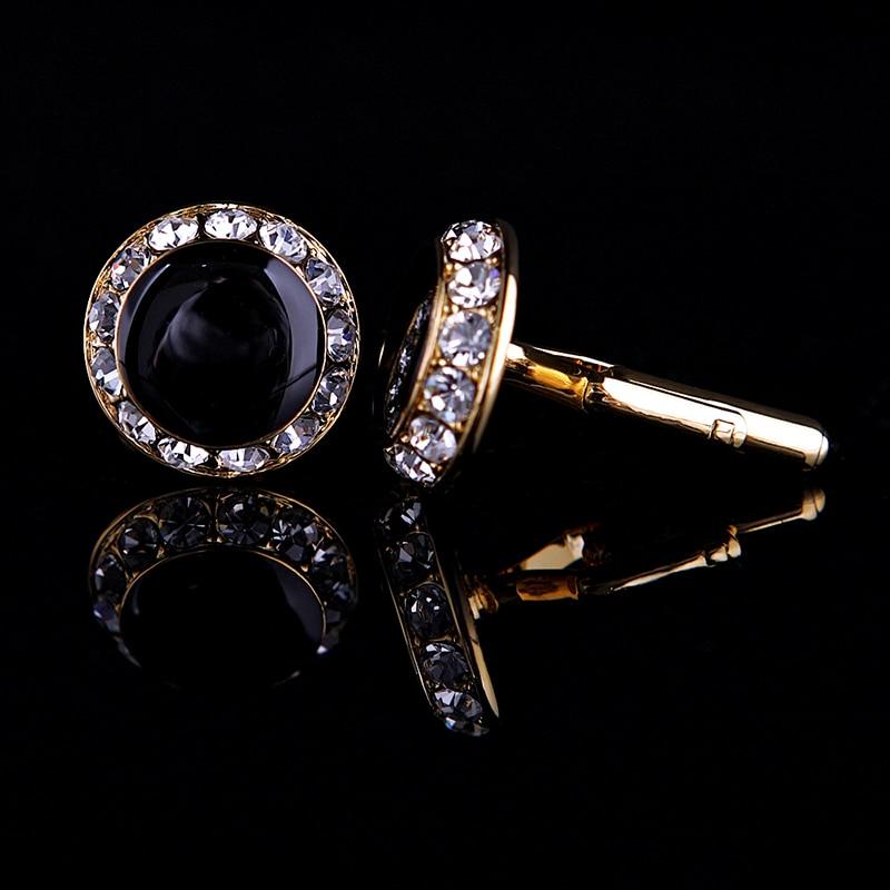 KFLK Perhiasan kemeja perancis manset untuk pria Merek Kristal manset - Perhiasan fashion - Foto 3