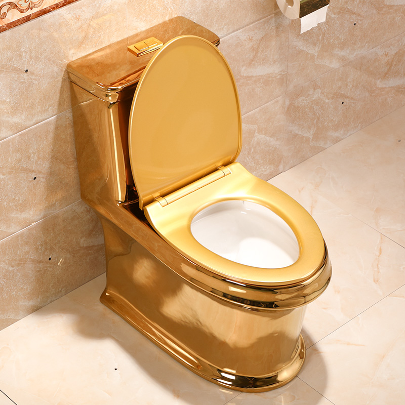 Awesome Us 1680 0 Art Gold Toilet Siphon Silent Water Saving Art Toilet Gold Sitting Urinal Toilet Seat In Sanitary Ware Suite From Home Improvement On Inzonedesignstudio Interior Chair Design Inzonedesignstudiocom