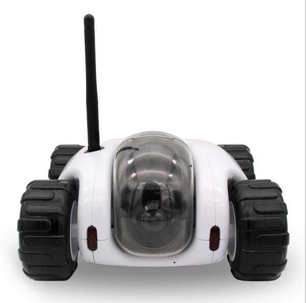 2016 wireless real time remote control spy tank toys WIFI IP camera car P2P remote monitor
