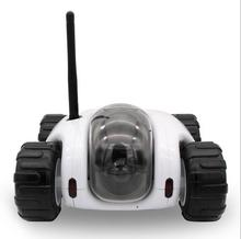 2016 wireless real time remote control spy tank toys WIFI IP camera car P2P remote monitor cctv camera