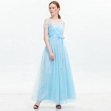 Maxi Dress Bridesmaid Dresses 2019 New Style Women Wedding Party Prom