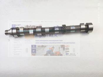 camshaft for Lijia 3 cylinders series engine , part number:3-06001-1