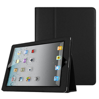 PU Leather for Apple iPad 2 3 4 Smart Case Magnetic Auto Wake Up Sleep Flip Cover With Stand Holder Folio Case for iPad 2/3/4|for ipad 2|case for ipad 2|case for ipad 3 -
