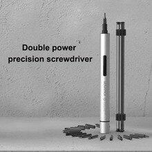 Wowstick 1P Pro Mini Electric Screwdriver with 18 Screw Bits Cordless Magnetizer Screwdriver  Power Screw Driver Kit Repair Tool цена 2017