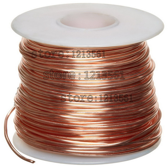 2mm 99 5 pure copper wire round solid uncoated in wires cables rh aliexpress com