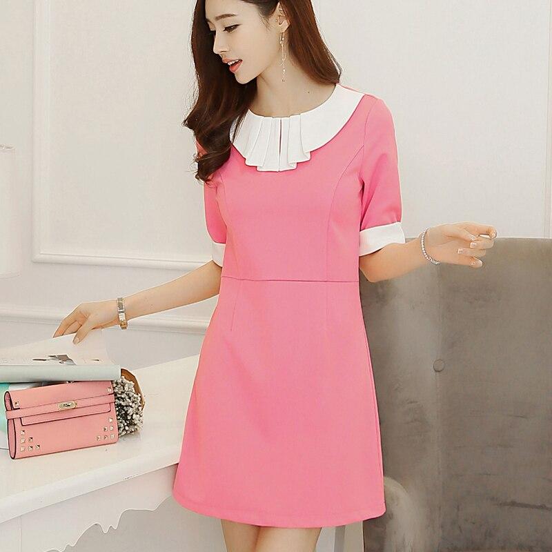 Корейское модные платье